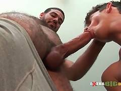 Tough Bear Gets His Big Dick Sucked 2